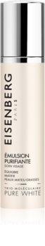 Eisenberg Pure White Émulsion Purifiante fluid matujący przeciw przebarwieniom skóry