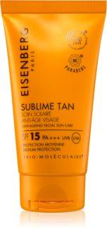 Eisenberg Sublime Tan Soin Solaire Anti-Âge Visage Face Sun Cream  SPF 15