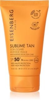 Eisenberg Sublime Tan Soin Solaire Anti-Âge Visage krem do opalania do twarzy z efektem przeciwzmarszczkowym SPF 50+