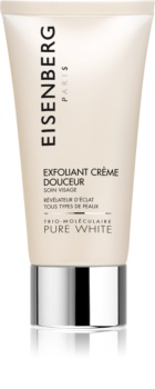 Eisenberg Pure White Exfoliant Crème Douceur peeling pro rozjasnění a vyhlazení pleti