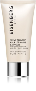 Eisenberg Pure White Crème Blanche pour les Mains & Ongles Lysnende håndcreme til at korrigere mørke pigmentpletter