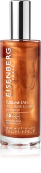 Eisenberg Sublime Tan Huile Visage & Corps слънцезащитно олио за лице и тяло SPF 6