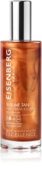 Eisenberg Sublime Tan Huile Visage & Corps opaľovací olej na tvár a telo SPF 6