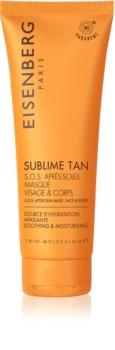 Eisenberg Sublime Tan SOS Après-Soleil Masque Visage & Corps masque apaisant et hydratant  après-soleil