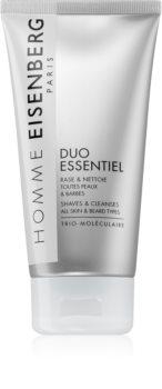 Eisenberg Homme Duo Essentiel gel de rasage et gel nettoyant 2 en 1