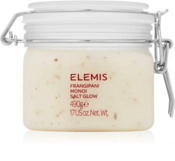 Elemis Body Exotics Frangipani Monoi Salt Glow scrub minerale corpo