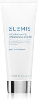 Elemis Body Performance Pro-Radiance Hand & Nail Cream creme para mãos e unhas anti-idade
