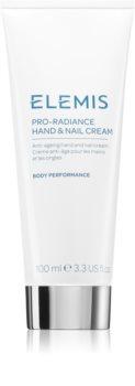 Elemis Body Performance Pro-Radiance Hand & Nail Cream Käsi- ja Kynsivoide Ikääntymistä Estävän Vaikutuksen Kanssa