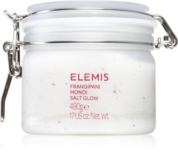 Elemis Body Exotics Frangipani Monoi Salt Glow минерален пилинг за тяло