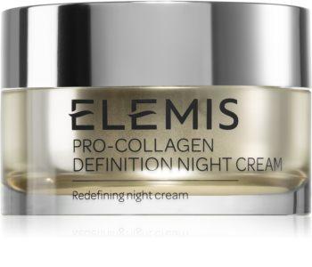 Elemis Pro-Collagen Definition Night Cream creme reafirmante de noite com efeito lifting para pele madura