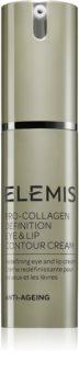 Elemis Pro-Collagen Definition Eye & Lip Contour Cream crema anti - rid pentru ochi si jurul ochilor