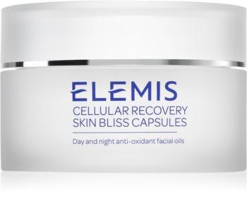 Elemis Advanced Skincare Cellular Recovery Skin Bliss Capsules óleo  facial antioxidante de dia e noite em cápsulas