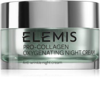 Elemis Pro-Collagen Oxygenating Night Cream нощен крем  против бръчки