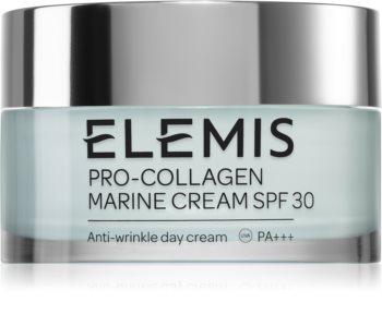 Elemis Pro-Collagen Marine Cream SPF 30 crema de zi pentru contur  SPF 30