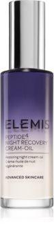 Elemis Peptide⁴ Night Recovery Cream-Oil éjszakai megújító krém-olaj