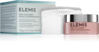 Elemis Pro-Collagen Rose Cleansing Balm tisztító balzsam az arcbőr megnyugtatására
