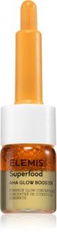 Elemis Superfood AHA Glow Booster освітлювальна сироватка для обличчя для живлення та зволоження