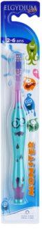Elgydium Kids Monster Zahnbürste für Kinder