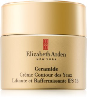 Elizabeth Arden Ceramide Plump Perfect Ultra Lift and Firm Eye Cream creme de olhos com efeito lifting SPF 15