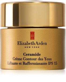 Elizabeth Arden Ceramide Lift and Firm Eye Cream crema cu efect lifting pentru ochi SPF 15