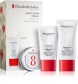 Elizabeth Arden Eight Hour Cream Miracle Moisturizers Sæt  II. (med fugtgivende virkning)