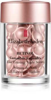 Elizabeth Arden Retinol Ceramide Capsules Line Erasing Night Serum ser facial de noapte în capsule