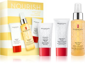 Elizabeth Arden Eight Hour Cream Miracle Moisturizers Cosmetic Set IV. (for Intensive Hydratation) for Women