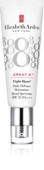 Elizabeth Arden Eight Hour Cream Great 8 Daily Defense Moisturizer loção hidratante protetora SPF 35