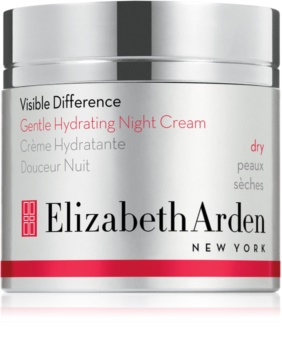 Elizabeth Arden Visible Difference Gentle Hydrating Night Cream crema de noapte hidratanta pentru tenul uscat