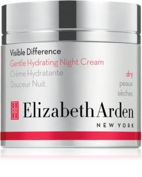 Elizabeth Arden Visible Difference Gentle Hydrating Night Cream crema notte idratante per pelli secche