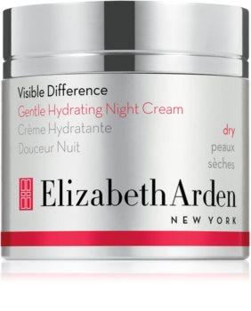 Elizabeth Arden Visible Difference Gentle Hydrating Night Cream éjszakai hidratáló krém száraz bőrre