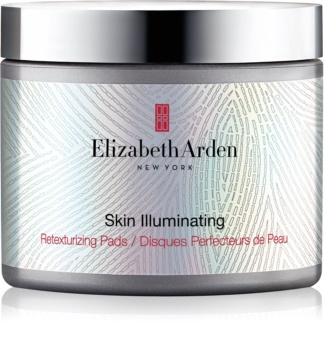 Elizabeth Arden Skin Illuminating Retexturizing Pads Peeling-Polsterchen zur Erneuerung der Hautoberfläche