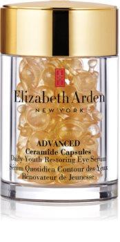 Elizabeth Arden Ceramide Advanced Daily Youth Restoring Eye Serum ser pentru ochi în capsule
