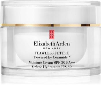 Elizabeth Arden Flawless Future Moisture Cream зволожувальний крем із керамідами SPF 30