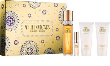 Elizabeth Taylor White Diamonds lote de regalo II. para mujer