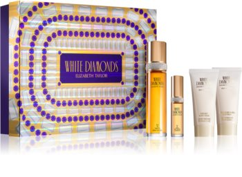 Elizabeth Taylor White Diamonds coffret I. para mulheres