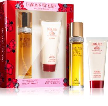 Elizabeth Taylor Diamonds and Rubies Gift Set XI. for Women