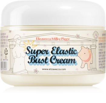 Elizavecca Milky Piggy Super Elastic Bust Cream укрепляющий крем для бюста с коллагеном