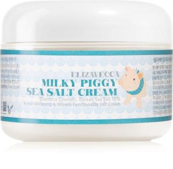 Elizavecca Milky Piggy Sea Salt Cream crème hydratante protectrice effet rénovateur