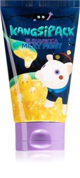 Elizavecca Milky Piggy Kangsipack hydratační a rozjasňující maska s 24karátovým zlatem