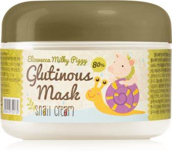 Elizavecca Milky Piggy Glutinous Mask 80% Snail Cream masque hydratant et nourrissant intense à l'extrait de bave d'escargot