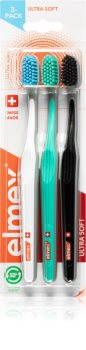 Elmex Ultra Compact Head Periuțe de dinți ultra soft 3 pc