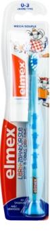 Elmex Caries Protection Kids brosse à dents pour enfants soft + mini dentifrice