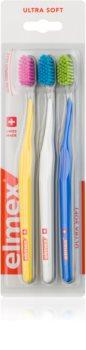 Elmex Swiss Made fogkefe ultra soft 3 db