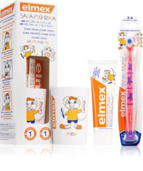 Elmex Kids 3-6 Years Ensemble de soins dentaires pour enfant
