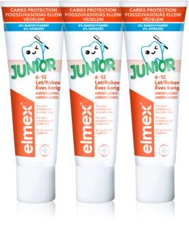 Elmex Junior 6-12 Years Tandkräm för barn