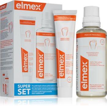 Elmex Caries Protection zestaw kosmetyków (wzmacniająca szkliwo)
