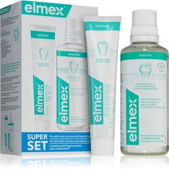 Elmex Sensitive Plus sada zubnej starostlivosti (pre citlivé zuby)