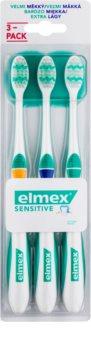 Elmex Sensitive zubné kefky extra soft 3 ks