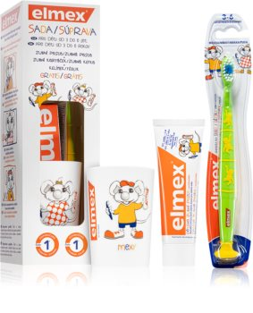 Elmex Kids 3-6 Years Zahnpflegeset (für Kinder)